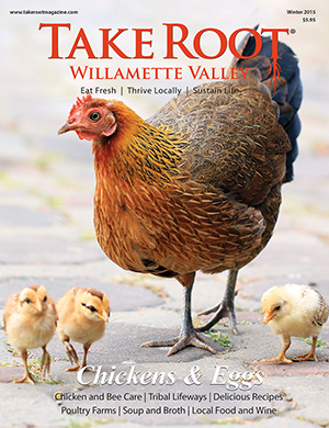 Enjoy a great local publication on sustainable living - Root Willamette Valley's Exhibit